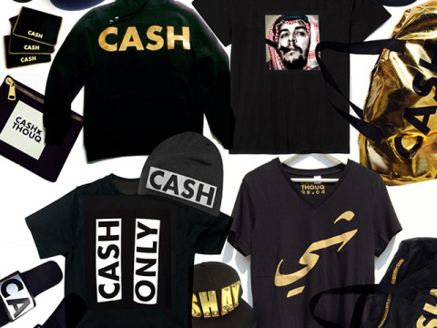 CASH black and gold