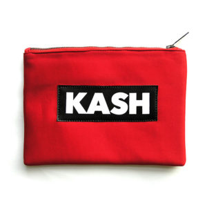 Kash Red Pouch