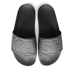 rubber sandal black