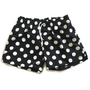 short swim polka dots