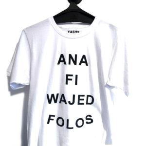 T-shirt ana folos