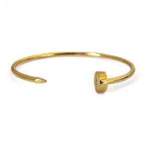 kash bracelet nail gold