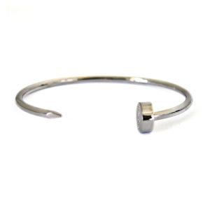 kash bracelet nail silver