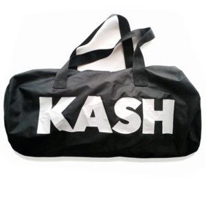 kash duffle bag black