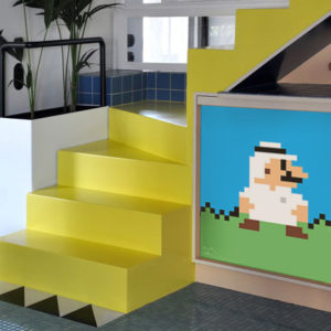 art home super mario