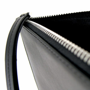 kash pouch embossed detail