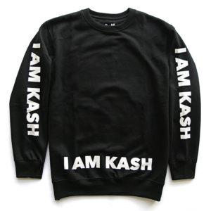 sweater i am kash black
