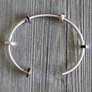 bracelet screws silver DTL