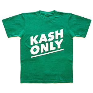 t-shirt kash only