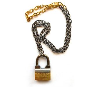kash lock necklace