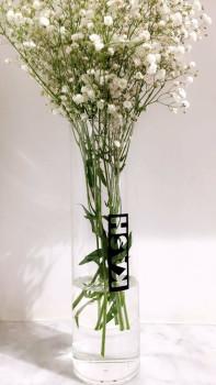 glass vase flowers